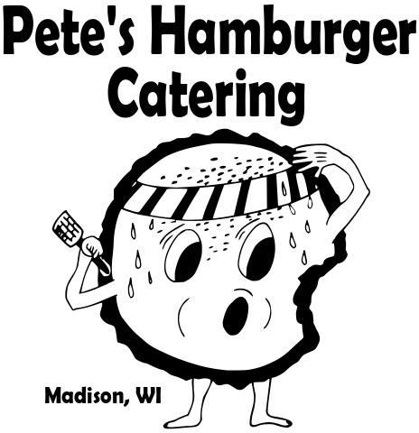 Pete's Hamburger Catering in Madison Logo